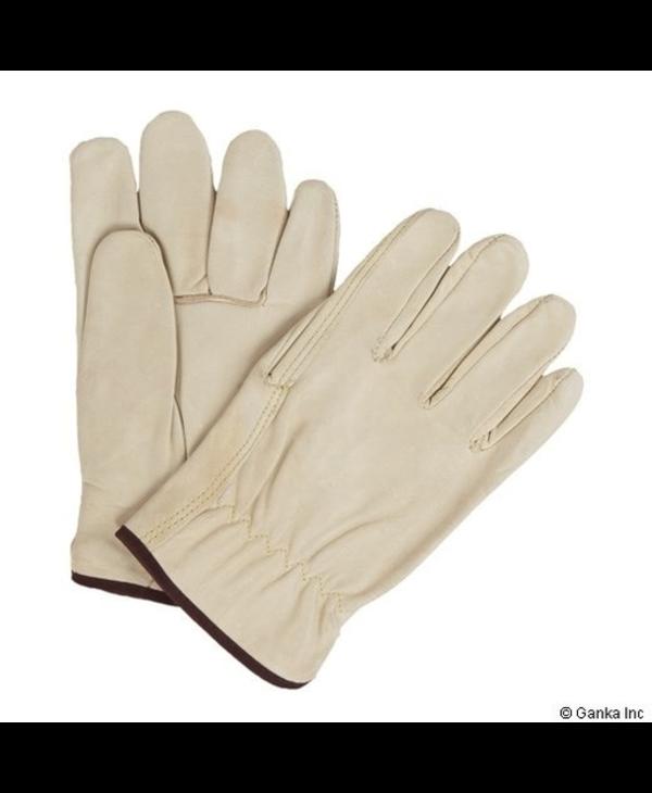 GKS Men's Cowgrain Boa Leather Glove