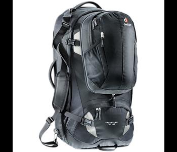 Deuter Traveller 70+10 Backpack, Black/Silver