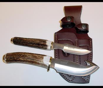 Ruko Muela Steel, Stag Horn Handle, Skinning Set