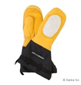 GKS GKS Deerskin/Fleece Heatlocker Mitt