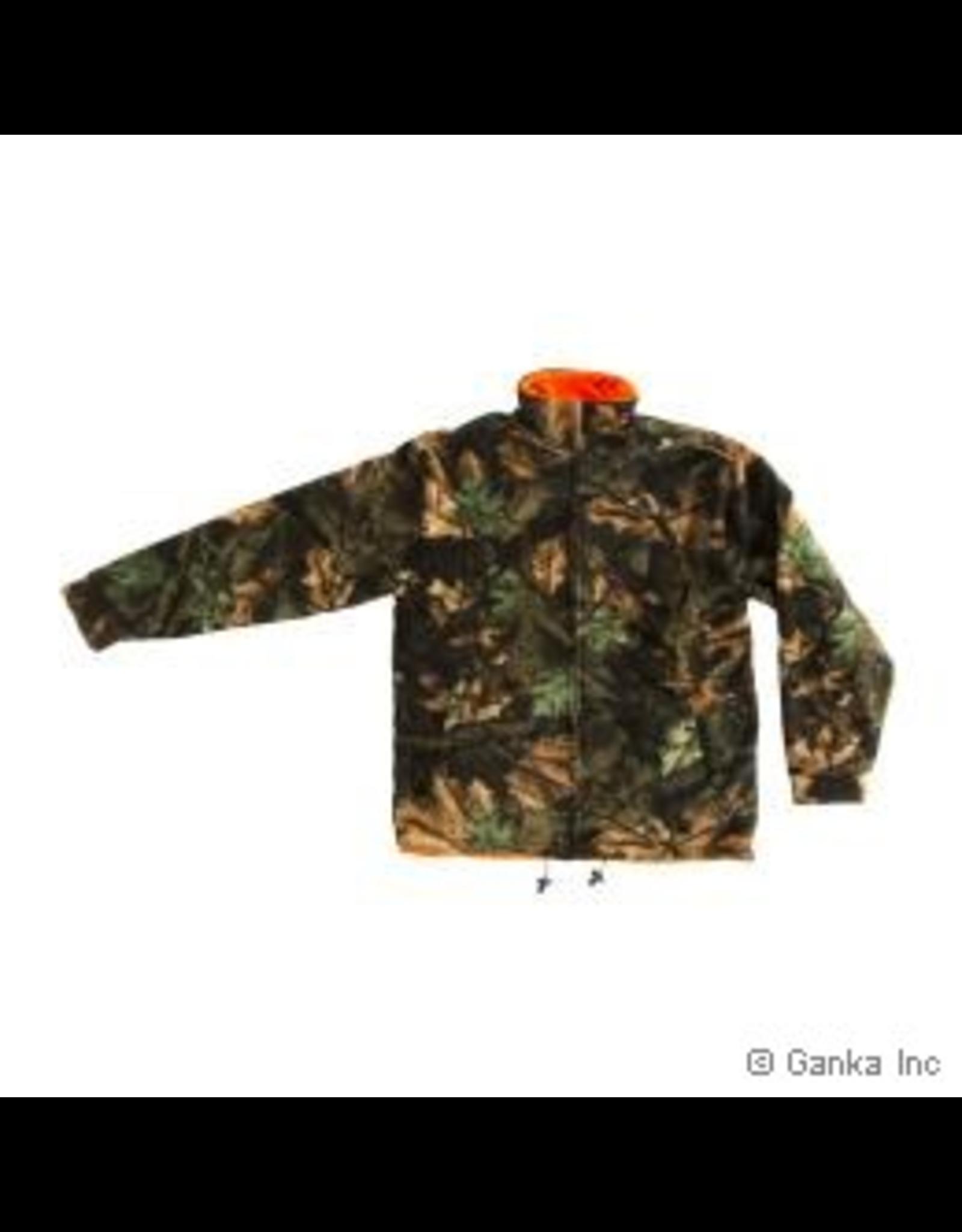 GKS GKS Mens Fleece Reversible Hunting Jacket