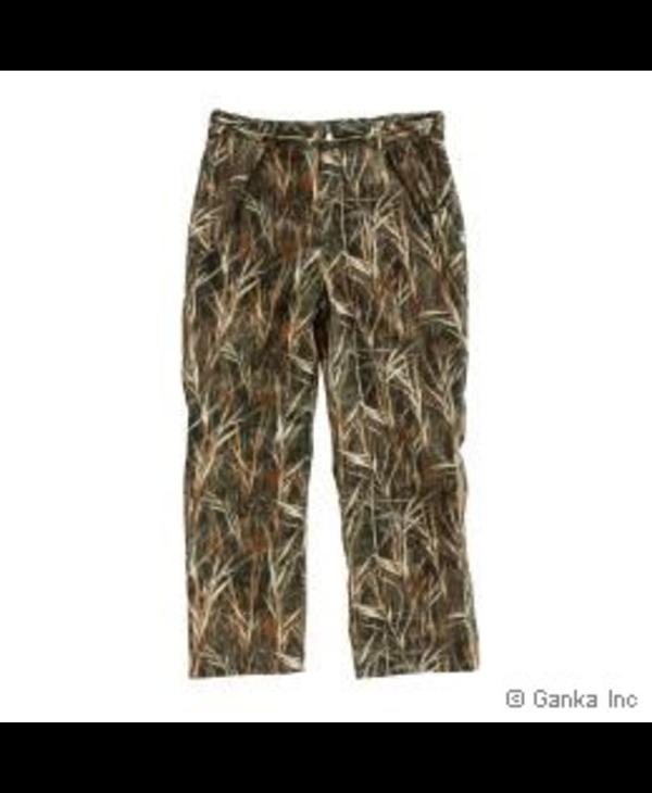 GKS Mens Hunting Waist Pants, 100% Poly. with Leg Zipper