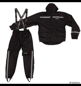Berkley GKS Mens Nylon Sealed Rain Suit with Roll In Hood