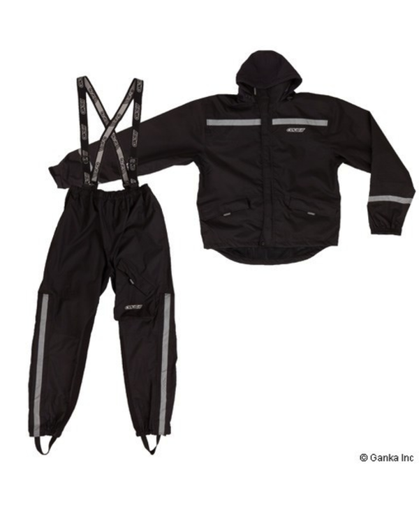 GKS ATV /  Motorcycle Rain Suit with Roll In Hood