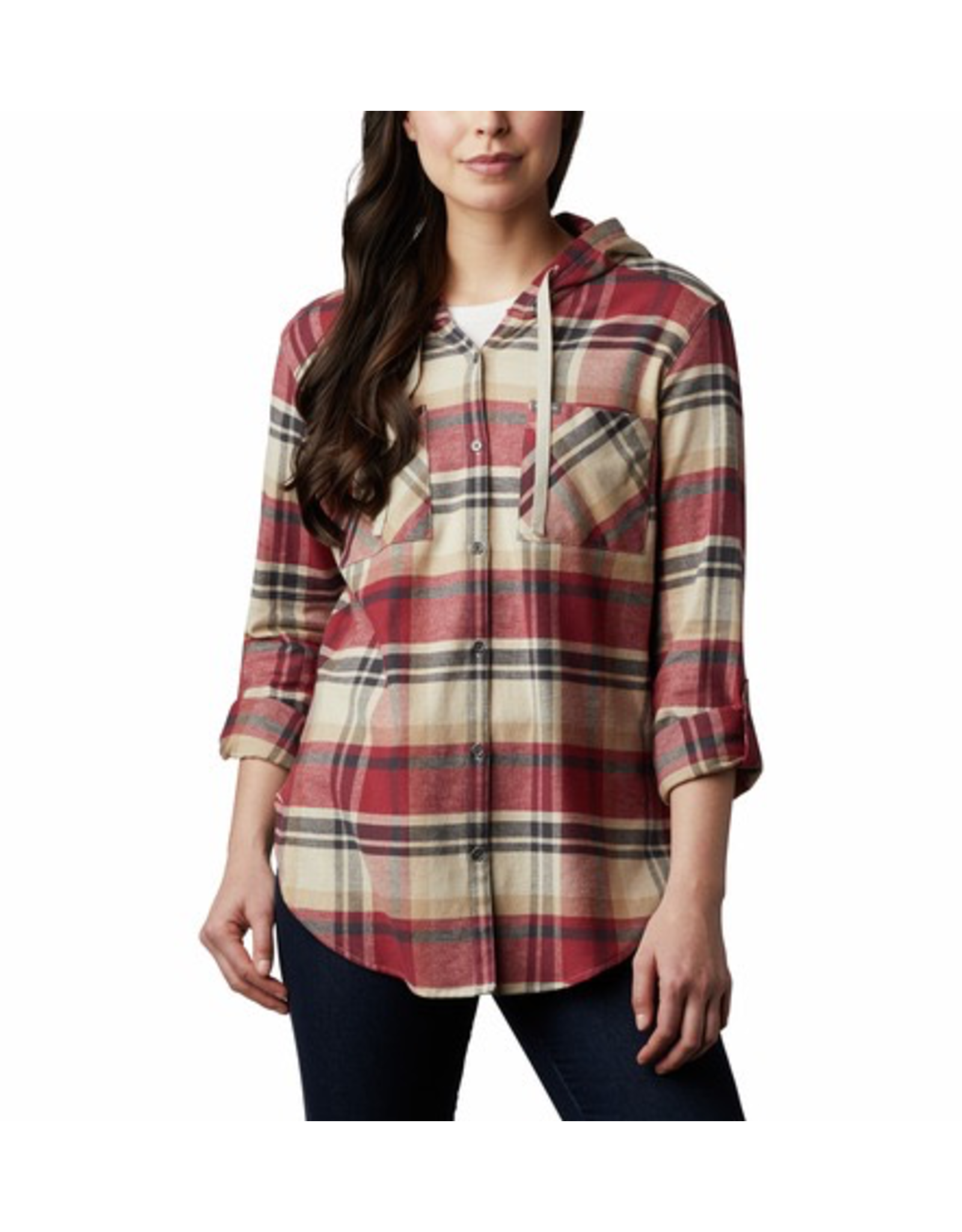 Columbia Columbia Women's Anytime Stretch Hooded Long Sleeve Shirt