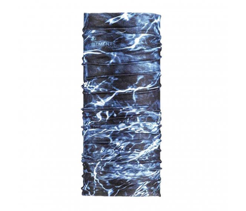 Mossy Oak Coolnet® UV+ Buff Neckwear Elements Aqua Navy