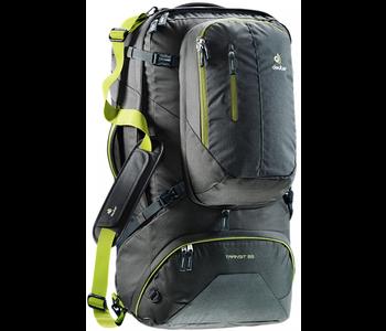 Deuter Transit 65L Travel Pack -Anthracite/Moss