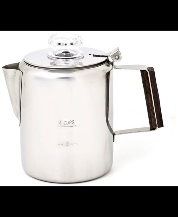 Chinook Coffee Percolator - 3 Cup