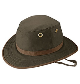 Tilley Tilley Hat Medium Brim Waxed Cotton Outback