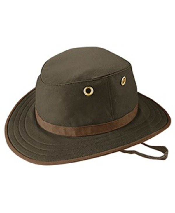Tilley Hat Medium Brim Waxed Cotton Outback