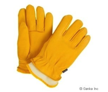 GKS Mens Deerskin Leather Glove with Boal Liner