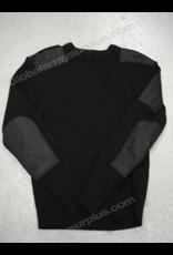 St. Gilles Surplus Black Wool Sweater