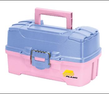 Plano Two-Tray Tackle Box - Pink