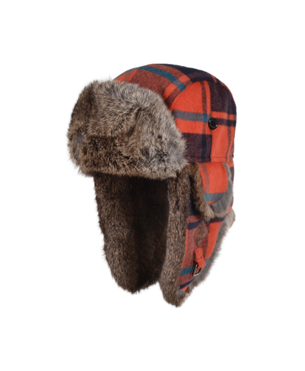 GKS Woold blend Quilted Trapper Hat