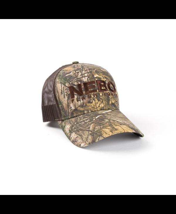 NEBO Trucker Hat, Camo