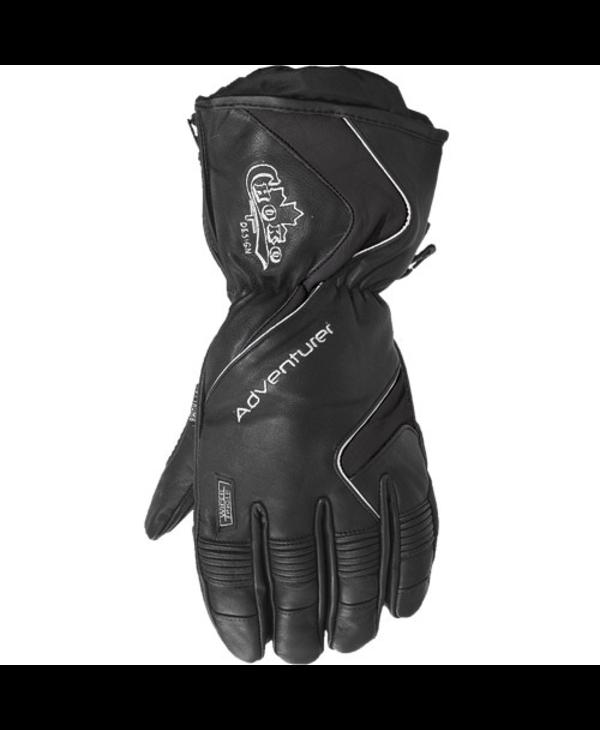 Choko Men's Adventurer Leather Gloves, with Removable Liner