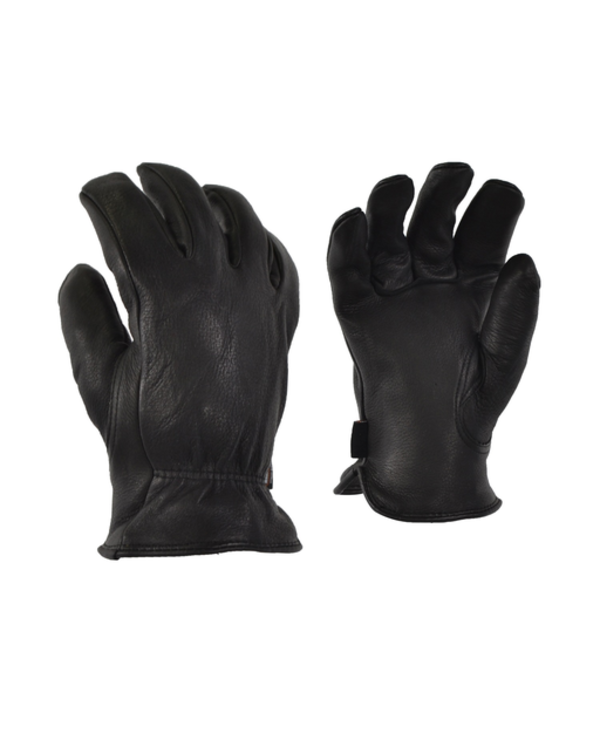 GKS Mens  Unlined Deerskin Leather Glove