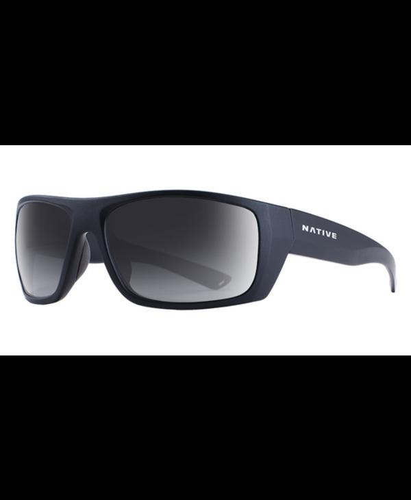 Native Sunglasses Distiller, Frame Matte Black, Lens N3 Gray