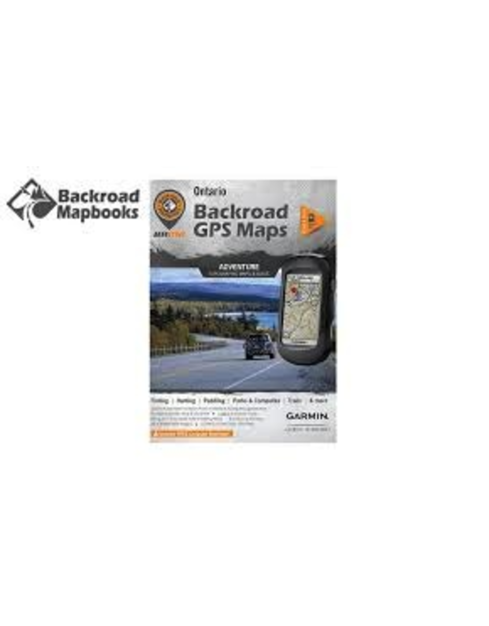 Backroad Mapbooks Backroad Mapbooks  ONONSD Ontario GPS  Maps SD