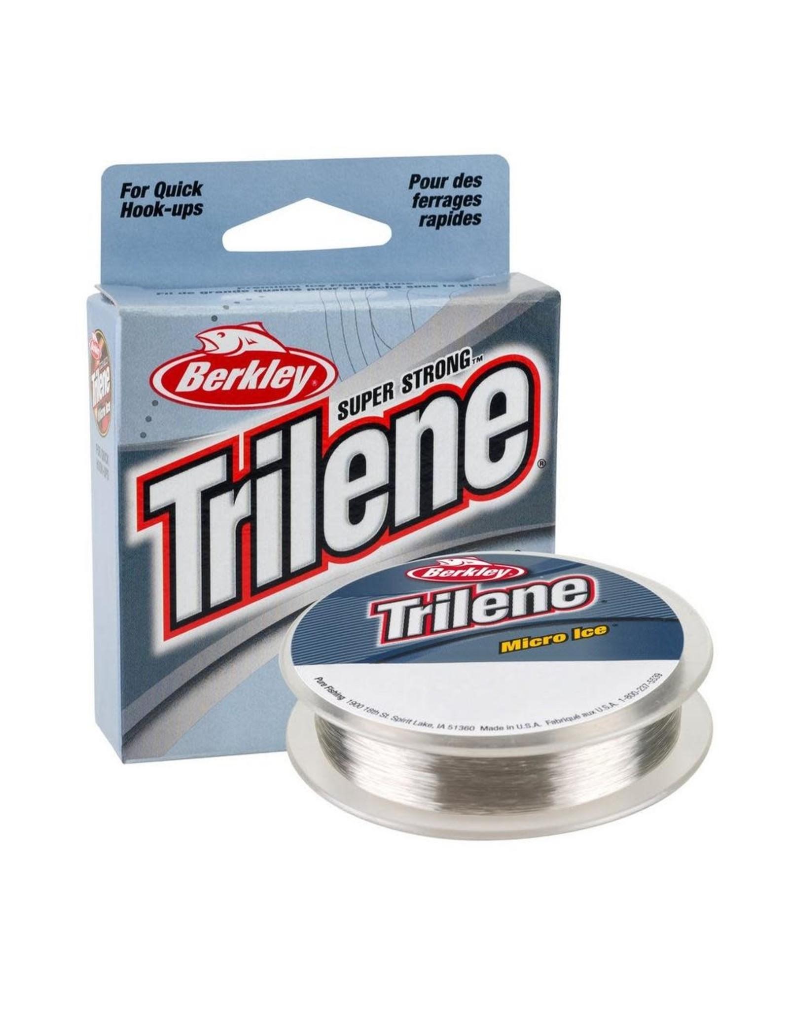 Berkley Berkley Trilene Micro Ice Fishing Line 110 yard