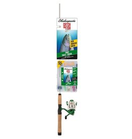 "Shakespeare Shakespeare Catch More Fish 5'6"" Trout Spinning Combo"