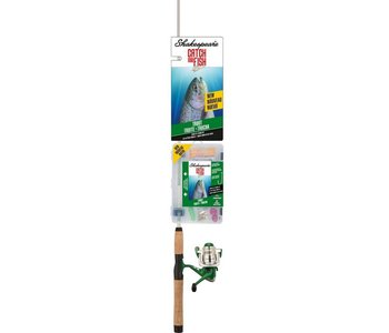 """Shakespeare Catch More Fish 5'6"""" Trout Spinning Combo"""
