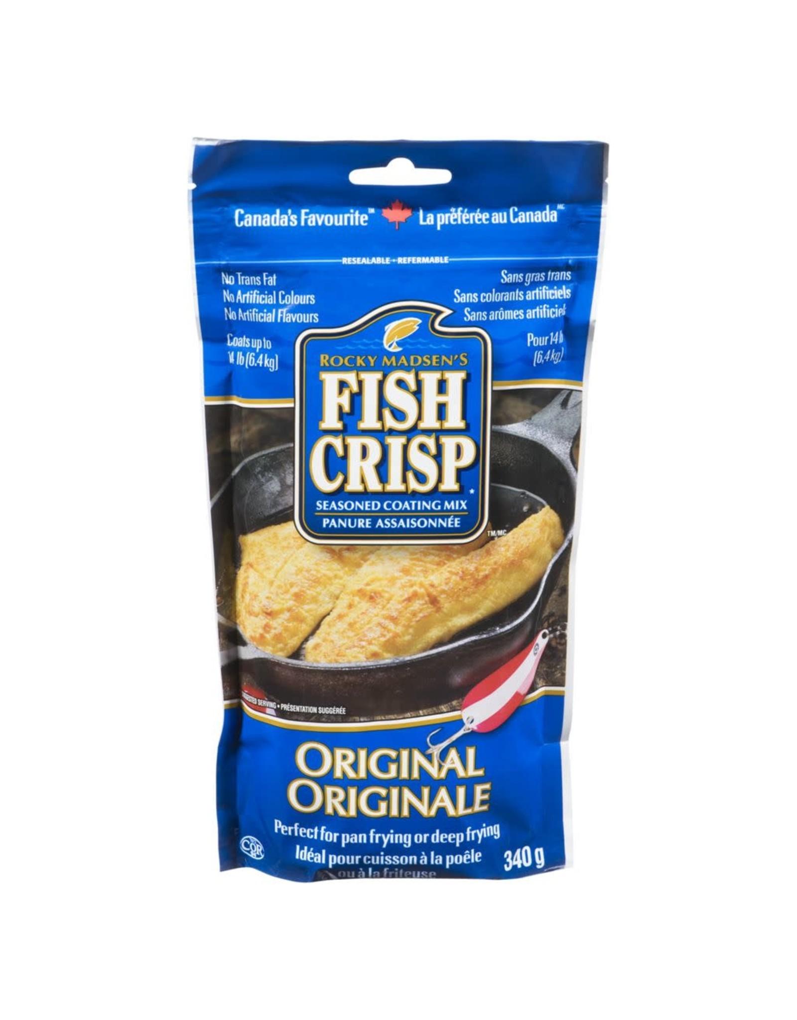 Fish Crisp Fish Crisp Seasoning/Coating Original Flavour