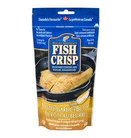 Fish Crisp Fish Crisp Seasoning/Coating Roasted Garlic & Butter
