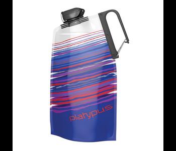 Platypus Duo Lock Soft Bottle 1.0L - Blue Skyline