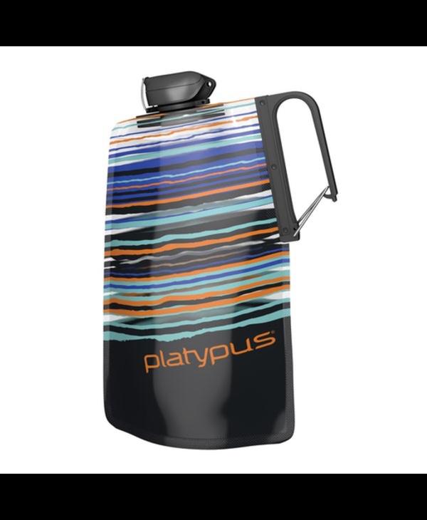 Platypus Duo Lock Soft Bottle 1.0L - Orange Skyline