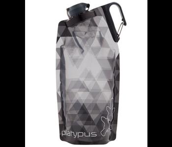 Platypus DuoLock Bottle 1L Grey Prisms