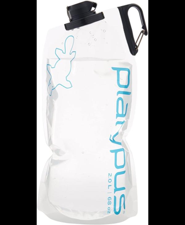 Platypus Duo Lock Soft Bottle 2.0L - Platy Logo.
