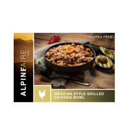 AlpineAire AlpineAire Mexican Style Grilled Chicken Bowl