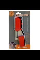 Ultimate Survival Technologies Ulitimate Survival Strikeforce Flint-Based Fire Starter with Tinder (Orange)