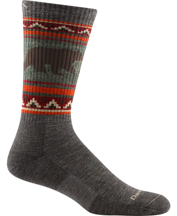 Darn Tough Men's VanGrizzle Midweight Cusion Hiking Sock