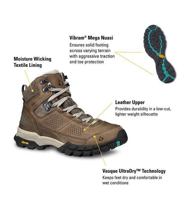 Vasque Women's Talus AT UltraDry Waterproof Hiking Boot