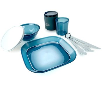GSI Outdoors Infinity 1-Person Table Set Blue