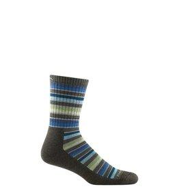 Darn Tough Darn Tough Men's Decade Stripe Micro Crew Midweight Cusion Sock