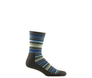 Darn Tough Men's Decade Stripe Micro Crew Midweight Cusion Sock