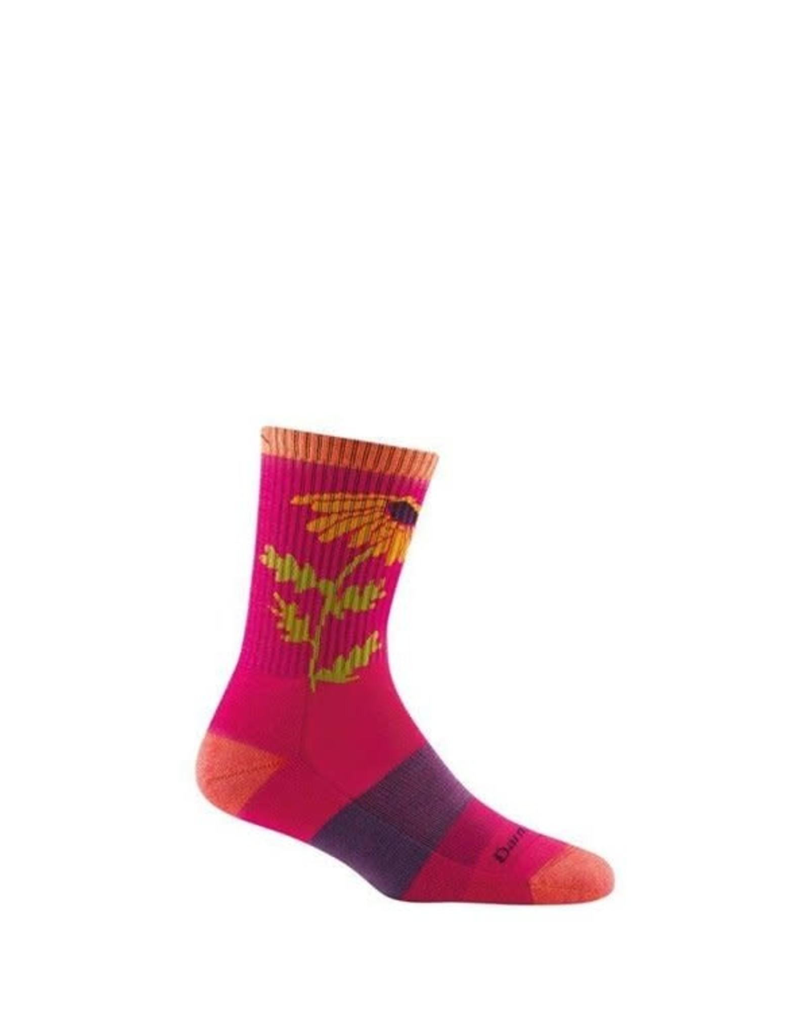 Darn Tough Darn Tough Women's Queen Bee Micro Crew Lightweight Cushion Sock