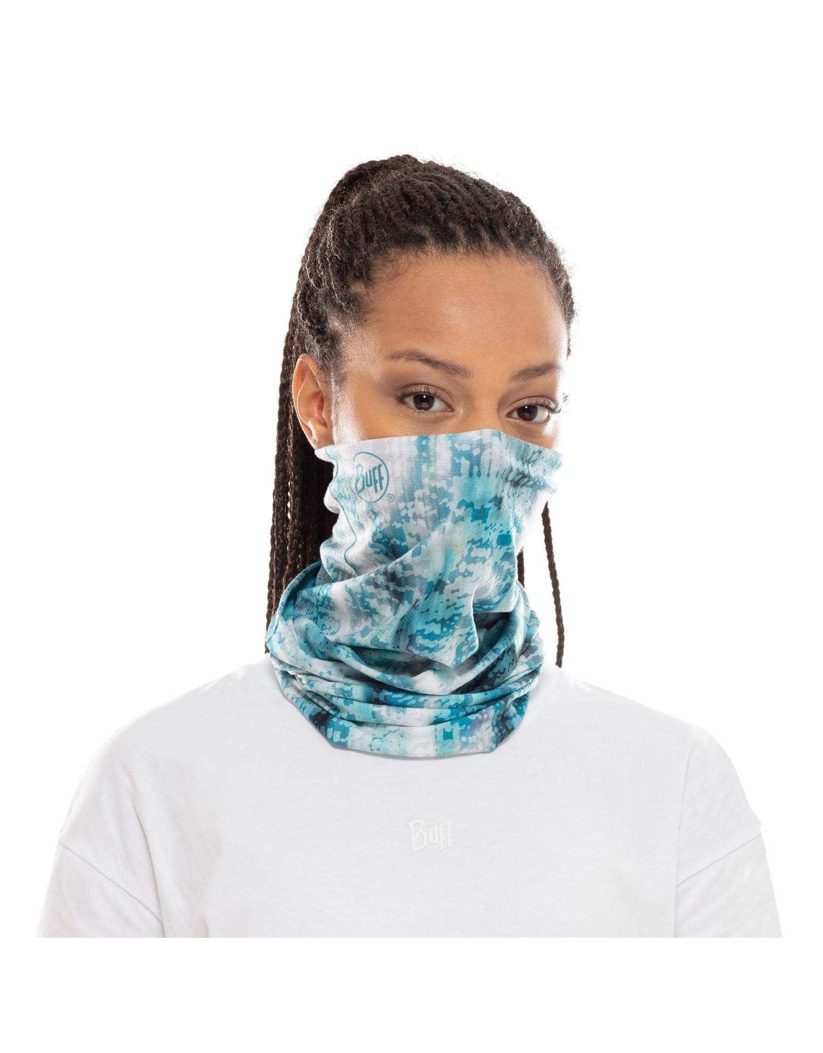BUFF BUFF COOLNET UV + Blauw Turquoise- Onesize Standard