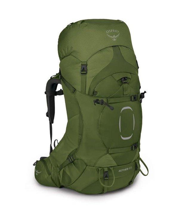 Osprey Aether 65 Backpack Garlic Mustard Green L/XL