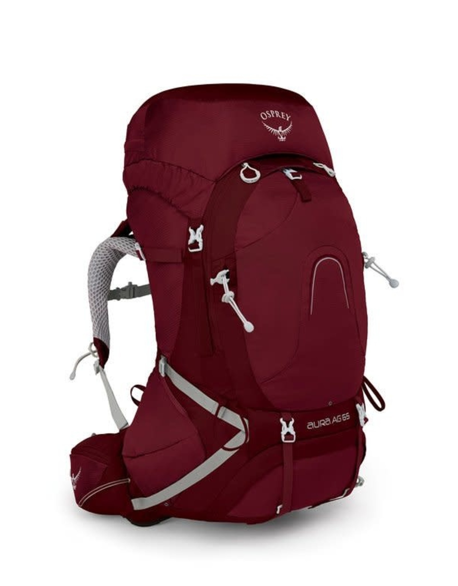 Osprey Osprey Aura 65 AG Medium Backpack Gamma Red