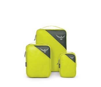 Osprey UL Packing Cube Set Electric Lime