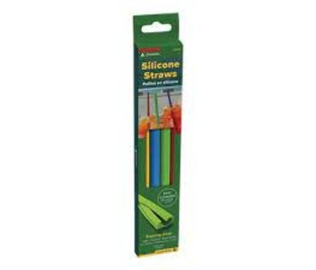 Coghlan's Silicone Straws-4 Pack