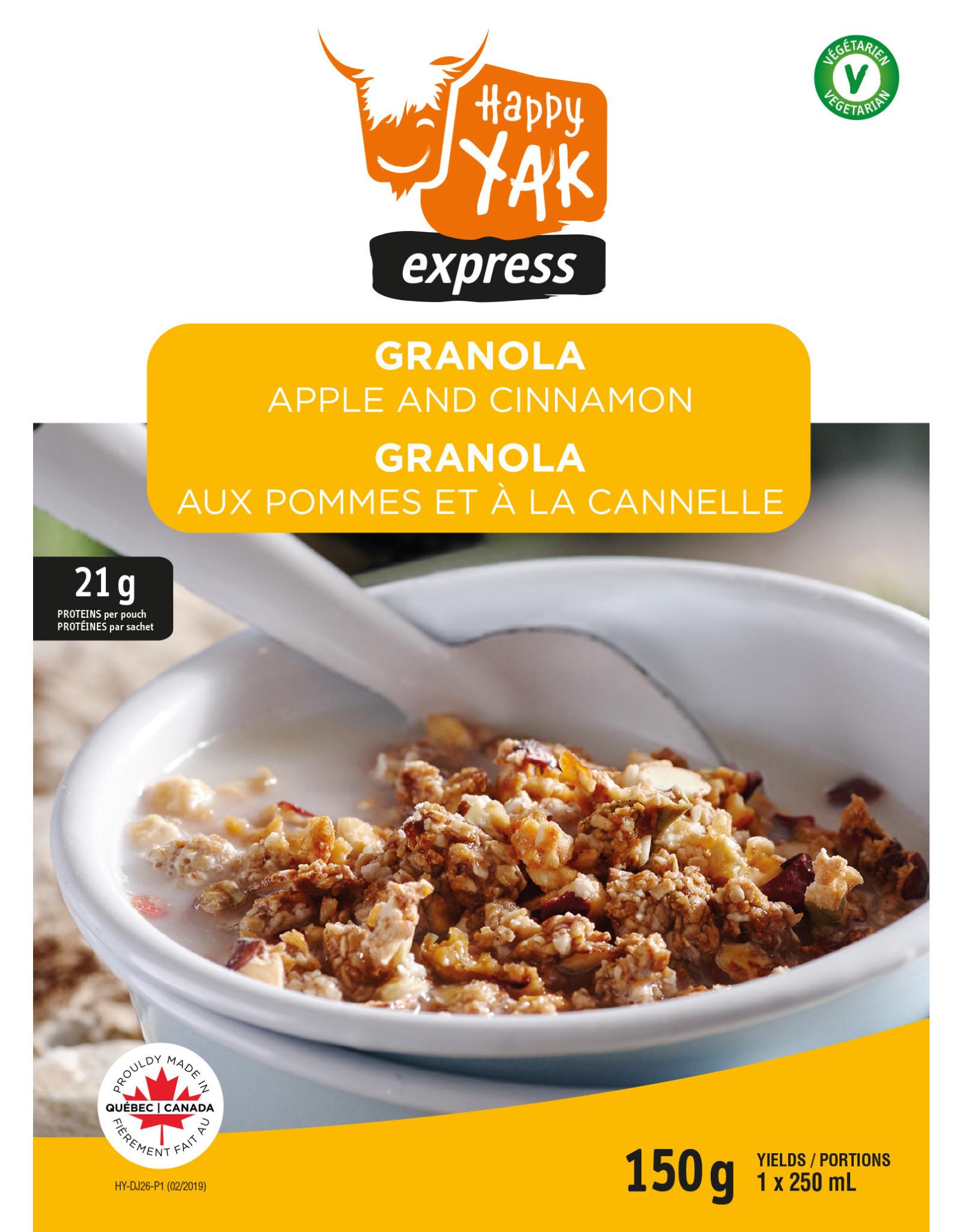Happy Yak Happy Yak Apple and Cinnamon Granola P1