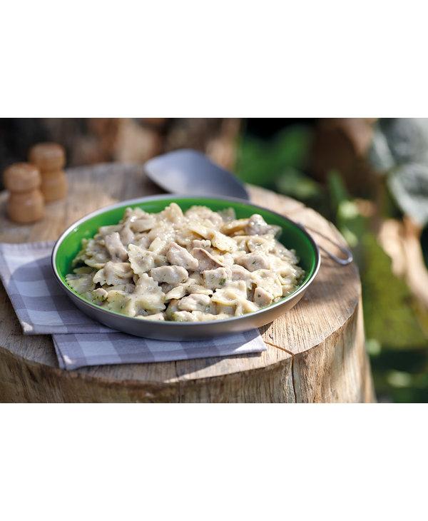 Happy Yak Braised Pork with White Wine Mushroom Sauce