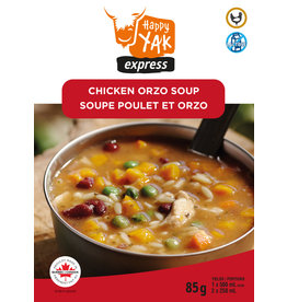 Happy Yak Happy Yak Chicken and Orzo Soup (Lactose Free)
