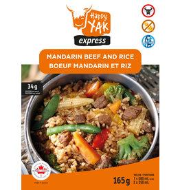 Happy Yak Happy Yak Mandarin Beef and Rice (Gluten Free, Lactose Free)