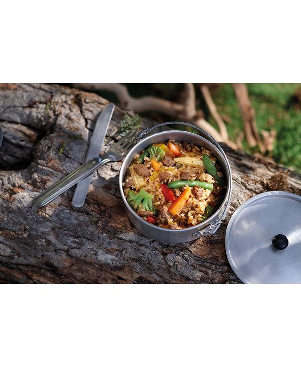 Happy Yak Mandarin Beef and Rice (Gluten Free, Lactose Free)